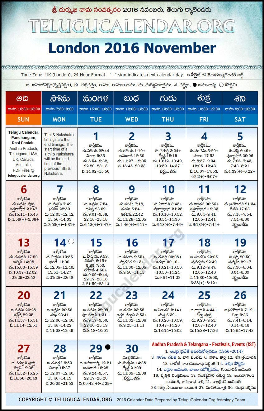 November - 2016