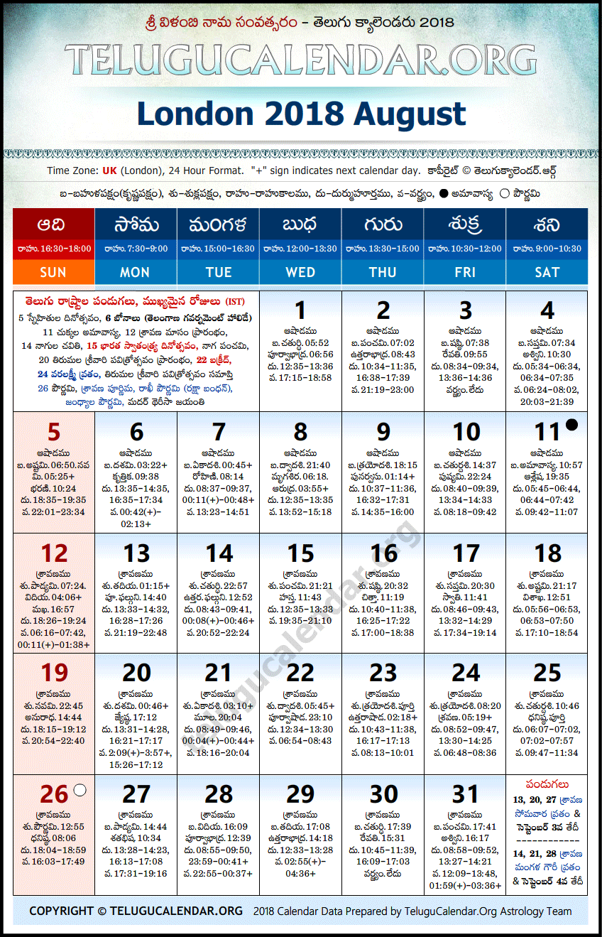August - 2018