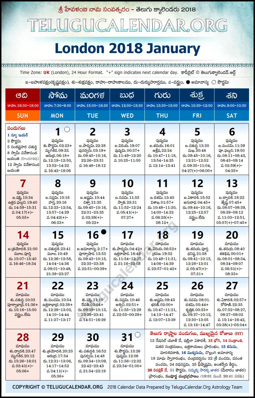 January - 2018