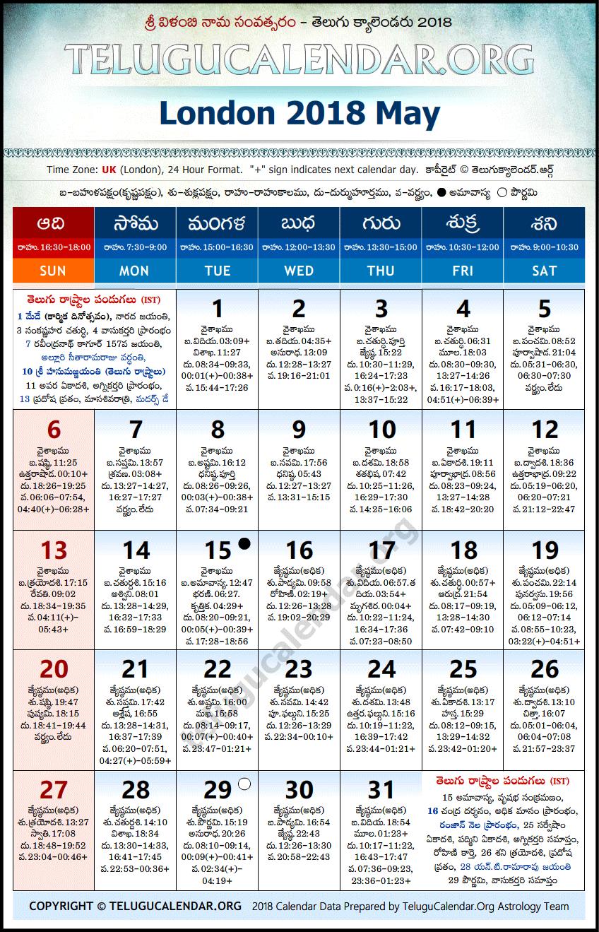 May - 2018