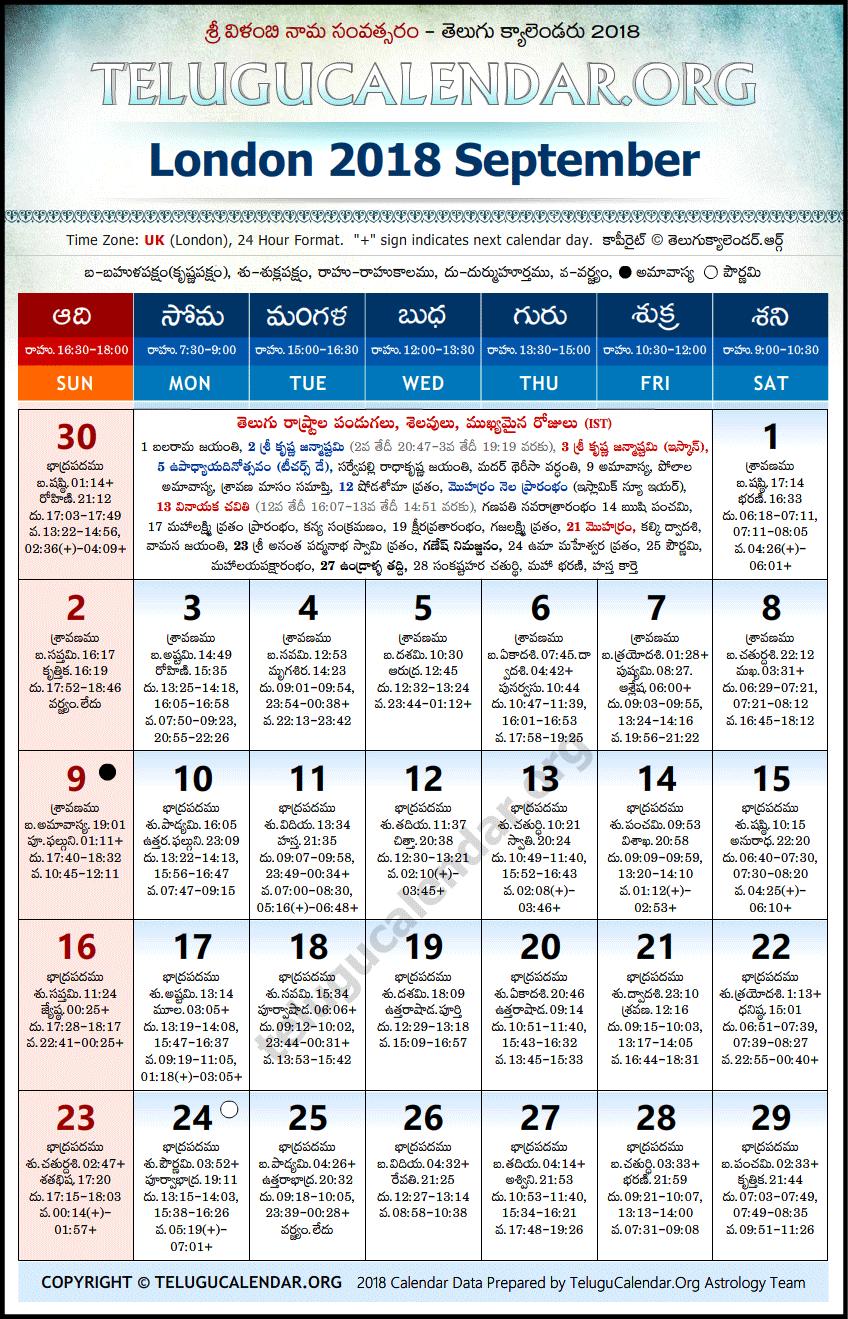 September - 2018