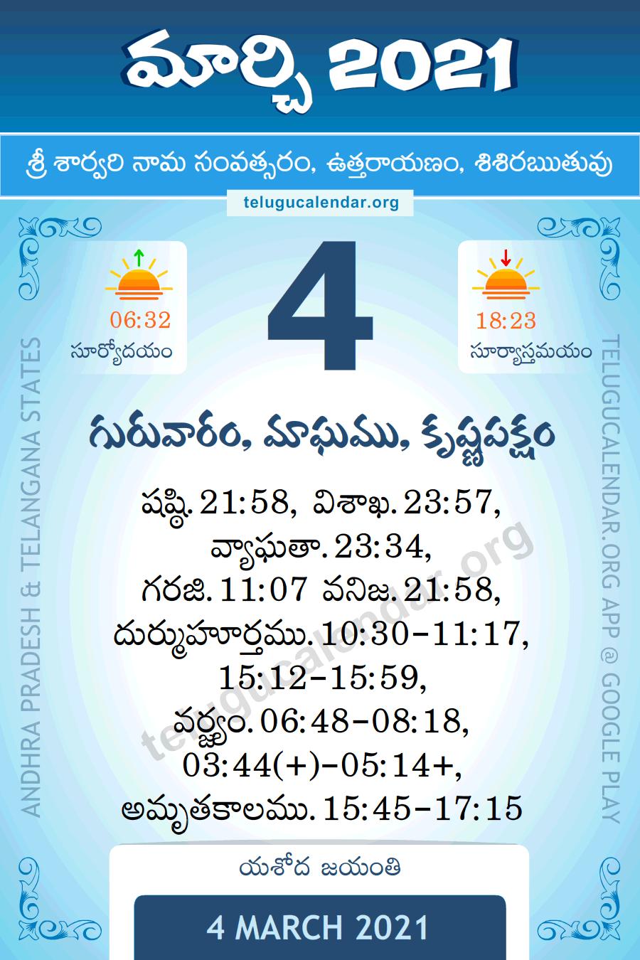 New York Telugu Calendar 2022.Panchangam Telugu 2021